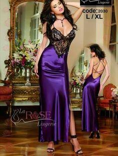 Purple Lingerie, Satin Lingerie, Hot Lingerie, Women Lingerie, Satin Gown, Satin Dresses, Satin Skirt, Pink Silk Robe, Satin Sleepwear