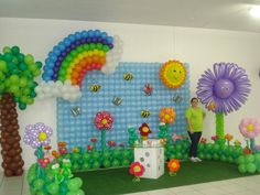 convite de aniversario tema jardim encantado 3D - Pesquisa Google