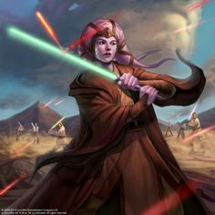 Star Wars Galaxies TCG - Twi'lek Jedi by Conceptopolis.deviantart.com on @deviantART