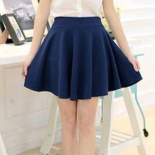 Jenny's Couture - Inset Shorts Mini Skirt