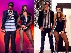 Cool Jay Z and Beyonce Couple Costume... Coolest Halloween Costume Contest