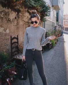 New Womens Fashion Winter Hipster Grey Ideas Mode Outfits, Casual Outfits, Fashion Outfits, Womens Fashion, Fashion Trends, Fashion Clothes, Latest Fashion, Fashion Tips, Looks Street Style