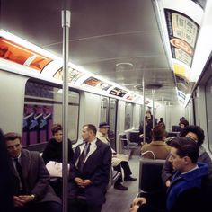 Inside the Montreal Metro, Saint-Laurent Station, 1966 Montreal Ville, Montreal Quebec, Expo 67, Destinations, Travel Oklahoma, Canadian Rockies, Saint Laurent, Death Valley, New York Travel