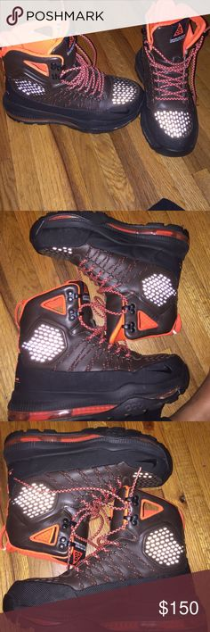 Nike Zoom Superdome Perfect condition just minimal coloring from jeans on the inside no flaws colors are brown orange and black Nike Shoes Boots