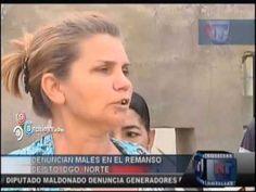 Denuncian males en el remanso de Santo Domingo Norte #Video - Cachicha.com