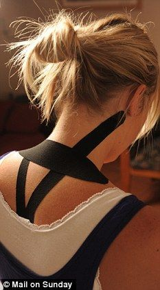 How 'Beckham tape' can help you beat headaches: More than 10 million of us suffer from the pain