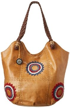 The SAK Indio 106188 Shoulder BagAmericana StarburstOne Size *** Want to know more, click on the image.Note:It is affiliate link to Amazon.