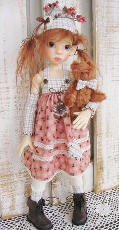 This photo was uploaded by deenascountryhearth.  - doll by Kaye Wiggs