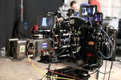 Arri Alexa and Canon C300 on the set of Game of Thrones