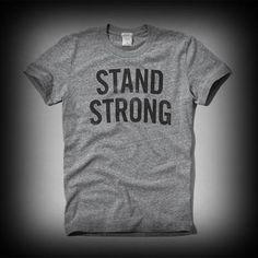 アバクロ メンズ Tシャツ Abercrombie&Fitch A&F Bullying Prevention Tees Tシャツ ★アバクロAbercrombie&Fitch海外限定アイテム!アメカジ代表的な人気ブランド。新バージョン♪ ★ヴィンテージウォッシュがコーディネイトしやすくて個性的な古着っぽさな味がでてお洒落。