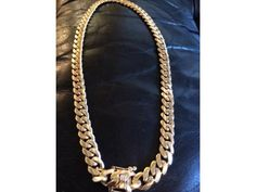 14k Solid Miami Cuban Link 245grams - $8500 (Castle Hill) Watch Sale, Cuban, Solid Gold, Miami, Jewelry Watches, Castle, Ads, York, City