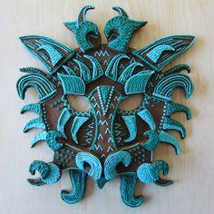 Gingerbread Dragon Mask