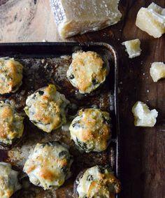 Spinach, Bacon, and Artichoke Stuffed Portobellos | 19 Deliciously Stuffed Vegetables