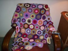 All sizes | autumnal throw wip | Flickr - Photo Sharing!