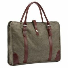 Fashion lady canvas tote handbag with leather hand