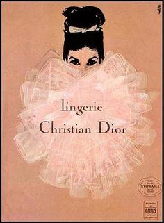 La Petite Gigi: {Monday Magic} Vintage Christian Dior Perfume Ads
