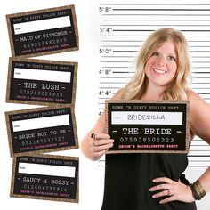Party Mug Shots - 20 Piece Photo Booth Props Kit | BigDotOfHappiness.com