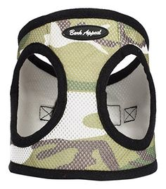 Bark Appeal Mesh Step in Harness, X-Large, Camouflage -- Unbelievable dog item right here! : Dog harness