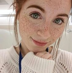 Danielle Boker has burned more eyes than the sun : theCHIVE Beautiful Freckles, Gorgeous Redhead, Beautiful Eyes, Red Freckles, Redheads Freckles, Red Hair Woman, Woman Face, I Love Redheads, Rides Front