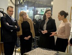 Crown Princess Victoria and Prince Daniel