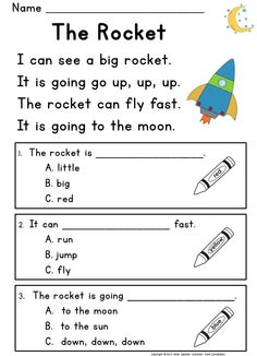 Printables Beginner Reading Worksheets february no prep packet kindergarten simple sentences free reading passages designed to help beginning readers develop comprehension skills early in the process of