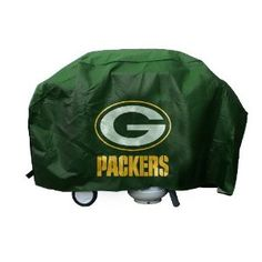 This Green Bay Packers Deluxe Grill Cover features the team logo screened on both sides of its durable vinyl. The NFL grill cover fits most large gas grills and Packers Gear, Nfl Packers, Packers Baby, Green Bay Packers Fans, Nfl Green Bay, Football Team Logos, Nfl Fans, Vinyl Fabric, Arizona Cardinals
