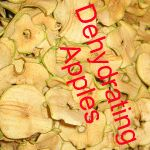 Dehydrating and re-hydrating fruit and vegetables.