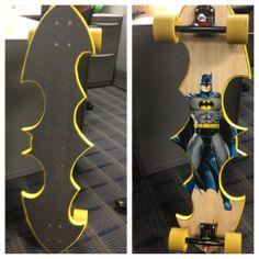 A batman longboard... whaaat? For my George!!