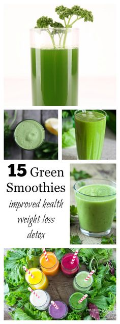 Green smoothies are the new comfort food. They are super healthy for you but they don't have to taste like it. Ice cream flavored vegetables anyone? I mean, what's not to love? Here are 15 green smoothies for you to try!