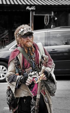 The Wizard - Coolest character in town! Asheville, NC