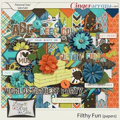 Filthy Fun {full kit} by Little Rad Trio