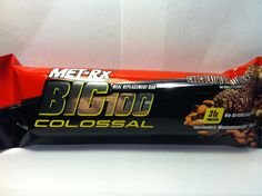 Crazy Food Dude Review: MET-Rx Big 100 Colossal Chocolate Toasted Almond Bar