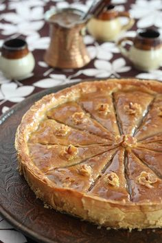 Recipe for baklava cake with pecan
