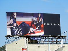 Prada F/W 2012 billboard