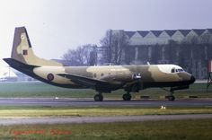 Andover C Mk.1 XS602 46Sqn RAF Northolt 16-04-73
