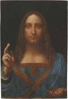 Salvatore Mundi - the Savior of the World - Leonardo de Vinci
