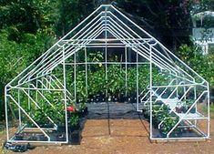 large pvc pipe greenhouse frame