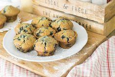 Muffins aux myrtilles »