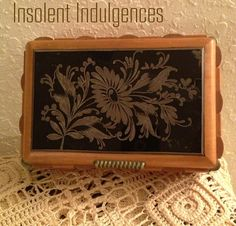 On Sale 1920's Antique Pine Wood Reversed by InsolentIndulgences, $35.00