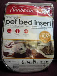 At the Fence is giving away a Sunbeam Heated Pet Bed Insert to one lucky reader!
