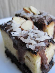 For the Love of Dessert: Almond Joy Brownies