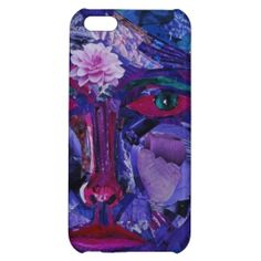 Sight, Abstract Magenta Violet Inner Vision iPhone 5C Cases