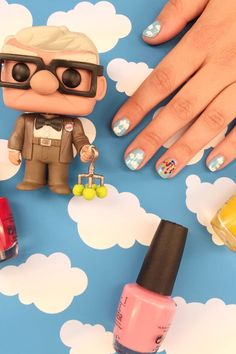 Float Away With Dreamy UP Nail Art