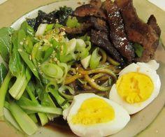 May sub zucchini for tofu shirataki noodles, but looks good!