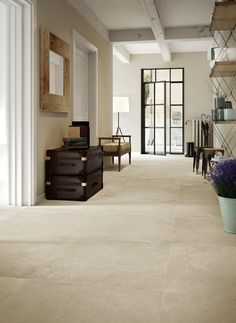 Stone Flooring, Small Apartments, My House, Tile Floor, Living Room Decor, Dining Table, Architecture, Decoration, Furniture