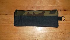 Camouflage Pencil Pouch by Ecilo on Etsy
