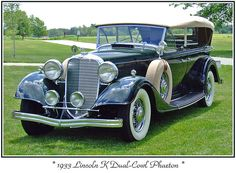 1933 Lincoln K, Plus 100s of Classic Cars   http://www.pinterest.com/njestates/cars/    Thanks to  http://www.njestates.net/real-estate/nj/listings