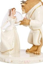 beauty and the beast wedding topper--- my husband is lucky I didn't see this before we got married or this woulda been at the top of my cake!