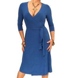 Blue Banana Elegant Slinky Dress