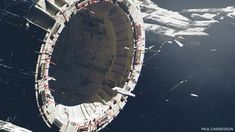 ArtStation - Space station, Paul Chadeisson